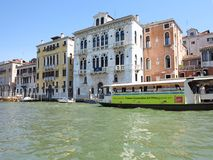 20 06 2017, Wenecja, Włochy: Widok historyczni budynki i kanały Obraz Stock