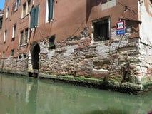 20 06 2017, Wenecja, Włochy: Widok historyczni budynki i kanały Zdjęcie Stock