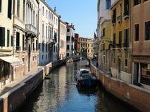 20 06 2017, Wenecja, Włochy: Widok historyczni budynki i kanały Obrazy Royalty Free