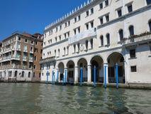 20 06 2017, Wenecja, Włochy: Widok historyczni budynki i kanały Obraz Royalty Free