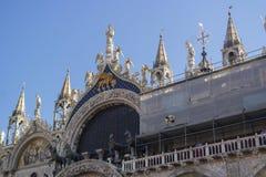 Wenecja Włochy, WRZESIEŃ, - 8, 2016 Świątobliwy Mark ` s kwadrat M i San zdjęcia stock