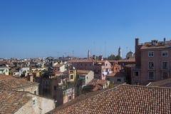 Wenecja Włochy, WRZESIEŃ, - 8, 2016 Ogólny widok miasto od obraz stock