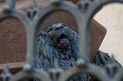 WENECJA WŁOCHY, WRZESIEŃ 29 -, 2017: Rzeźba St Mark ` s lew Zdjęcie Royalty Free
