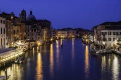 Wenecja w nocy zdjęcie royalty free