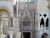 20 06 2017, Wenecja, Włochy: St Mark ` s kwadrat, bazylika San Marco Fotografia Stock
