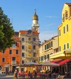 Wenecja - widok architektury stary miasto Fotografia Stock