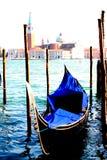 Wenecja widoki Granu kanał bazylika zdjęcia royalty free