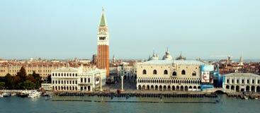 Wenecja widzieć od above obrazy stock