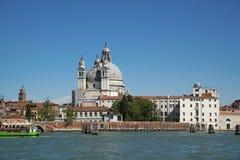 Wenecja wielki kanał Zdjęcia Royalty Free