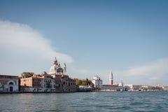 Wenecja, wiew od kanał grande, Wenecja, Włochy Zdjęcie Royalty Free