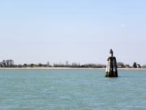 Wenecja wiosną, dokami i lagunami, 3 Obrazy Stock