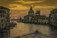 Wenecja wschód słońca zdjęcia royalty free