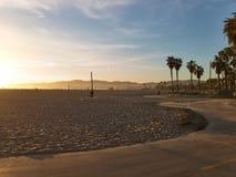 Wenecja wyrzucać na brzeg, Snata Monica, Kalifornia, usa - Marzec 29, 2017: Wenecja wyrzucać na brzeg, Snata Monica, Kalifornia,  Obrazy Stock