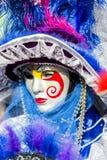 Wenecka karnawał maska Zdjęcie Royalty Free