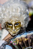 Wenecka karnawał maska Obraz Royalty Free