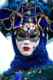 Wenecka karnawał maska fotografia royalty free