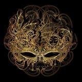 Wenecka koronki maska royalty ilustracja