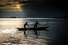 Wenecka laguna Obraz Royalty Free
