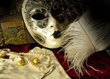 Wenecka maska Zdjęcie Stock