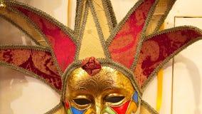 Wenecka maska, Wenecja, Włochy zdjęcia stock