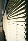 Wenecka stora jako sunscreen na okno obrazy royalty free
