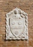 Wenecka ulga z żakietem ręki z aniołem Zdjęcie Royalty Free