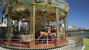 Wenecki Carousel w Perth zbiory wideo