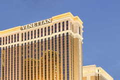 Wenecki hotel w kurorcie kasyno na Las Vegas pasku Zdjęcie Stock
