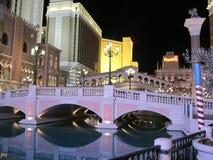 Wenecki hotel w kurorcie kasyno w Las Vegas Obraz Royalty Free