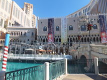 Wenecki hotel w kurorcie kasyno w Las Vegas Zdjęcia Royalty Free