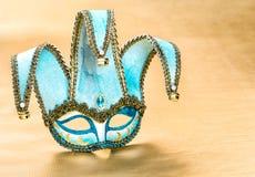Wenecki karnawał maski arlekin świąteczna dekoracja Fotografia Stock