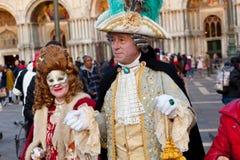 Wenecki karnawał 2015 Obraz Royalty Free