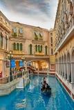 Wenecki Kasynowy hotelowy Macao Zdjęcia Stock