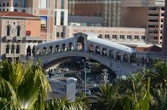 Wenecki Las Vegas, transport, punkt zwrotny, miasto, architektura Fotografia Stock