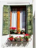 Wenecki okno Obrazy Royalty Free