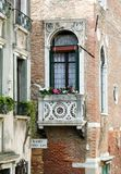 Wenecki okno Zdjęcie Stock