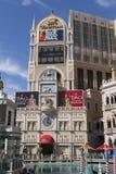 Wenecki podpisuje wewnątrz Las Vegas, Nevada fotografia royalty free