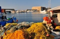 Wenecki port w Irakleo Grecja Zdjęcie Stock