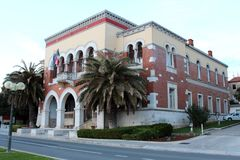 Wenecki stylowy rządowy budynek Fotografia Stock