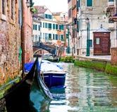 Wenecki wodny kanał zdjęcie stock