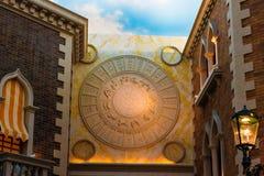 Wenecki zodiaka Hotel Zdjęcia Royalty Free