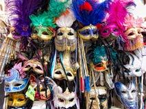 Weneckie Maski Zdjęcie Royalty Free