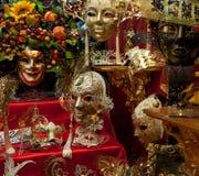 Weneckie maski Zdjęcia Royalty Free