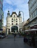 Wenen - één van de meest bezochte steden van Europa royalty-vrije stock afbeeldingen