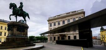 Wenen, Albertina Museum royalty-vrije stock afbeelding