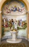 Wenen - baptistery kapel royalty-vrije stock foto's