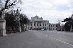 Wenen Burgtheater Stock Foto