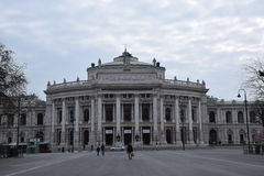 Wenen Burgtheater Royalty-vrije Stock Fotografie