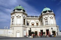Wenen - Close-up van Belveder royalty-vrije stock afbeelding