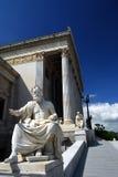 Wenen - het Oostenrijkse Parlement stock afbeelding
